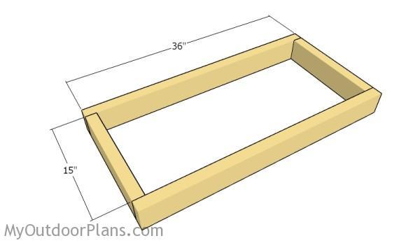Building the base frame