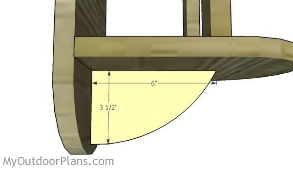 Building the bottom brace