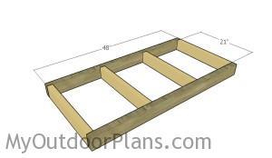 Building the bottom frame