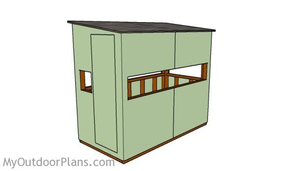 Deer Box Stand Plans Myoutdoorplans Free Woodworking