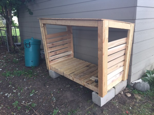 DIY Log Store | Free Outdoor Plans - DIY Shed, Wooden Playhouse, Bbq ...