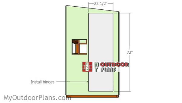 Fitting-the-door