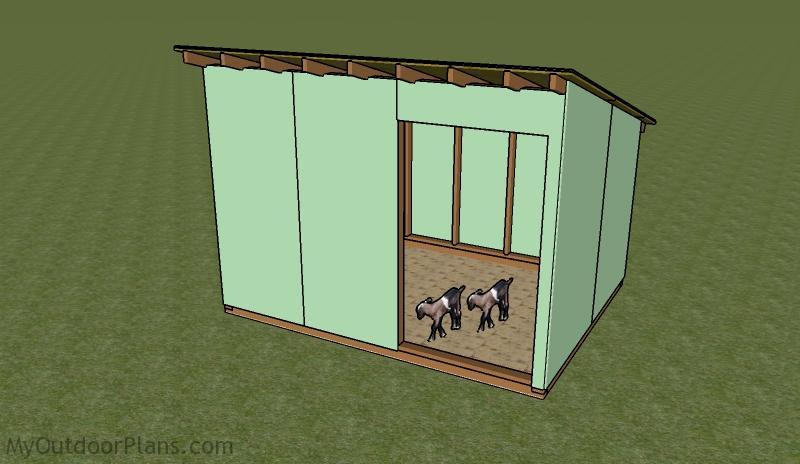 Goat Shelter Plans