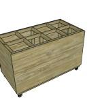 Lumber Storage Cart for Scraps Plans