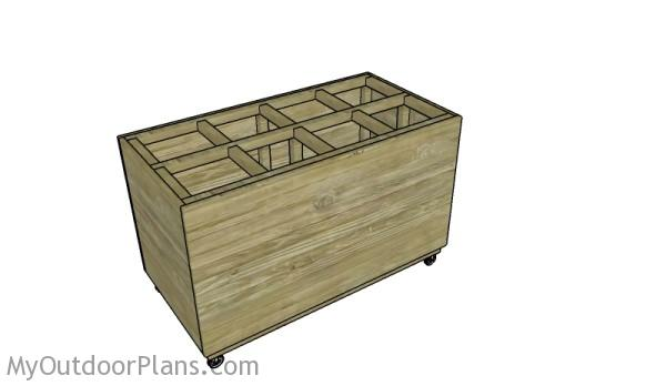 Lumber Storage for Scraps Plans
