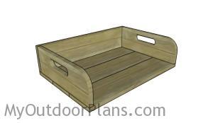 Potting tray plans