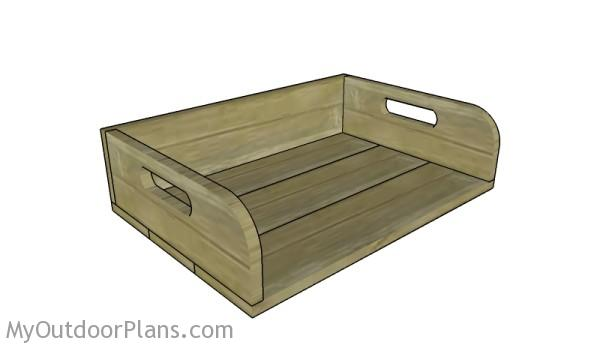 Potting tray plans
