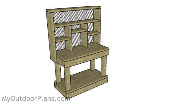 DIY Reloading Bench Plans | MyOutdoorPlans | Free Woodworking Plans ...