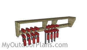 Simple Clamp Rack Plans