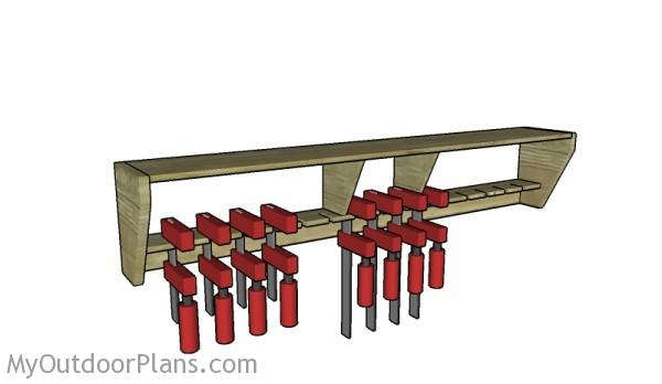 Simple Clamp Rack Plans | MyOutdoorPlans | Free ...
