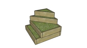 Tiered Garden Raised Bed Plans