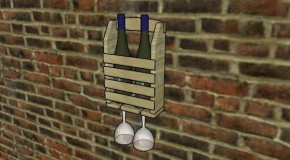 Wine Glass Rack Plans
