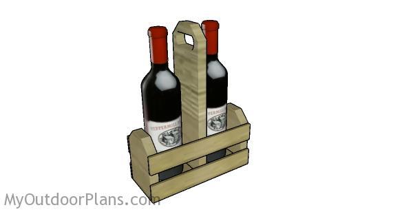Wine Caddy Plans
