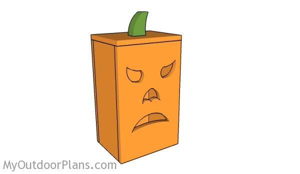 Wood Pumpkin Lantern Plans