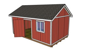12×20 Shed Plans