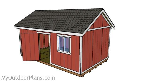 12x20 shed roof plans myoutdoorplans free woodworking for 20 x 40 shed plans