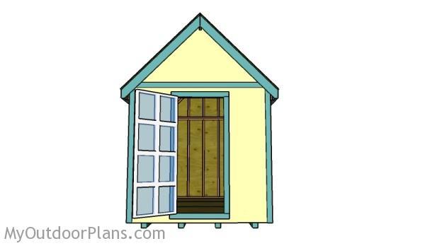 8x12 Tiny house plans