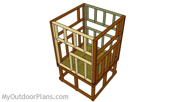 Elevated Deer Blind Plans | MyOutdoorPlans | Free