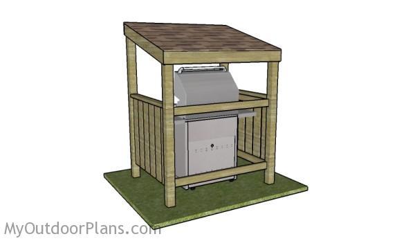 BBQ shelter plans