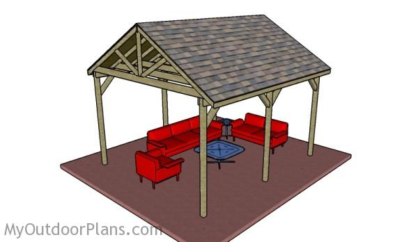 Backyard Pavillion Plans. Backyard Pavilion Plans - Backyard Pavilion Plans MyOutdoorPlans Free Woodworking Plans