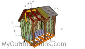 Building a 6x8 shed