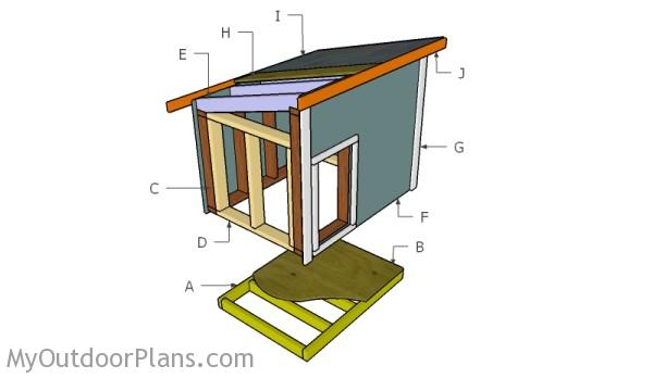 Dog House Plans For Large Dog Myoutdoorplans Free Woodworking