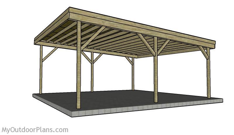 2 Car Carport Plans