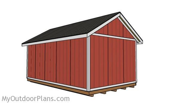 Building a large shed