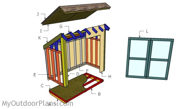 Lean To Storage Shed Plans Myoutdoorplans Free