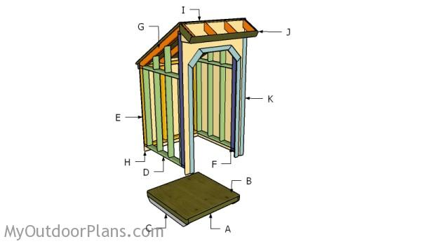 Building a woo storage shed