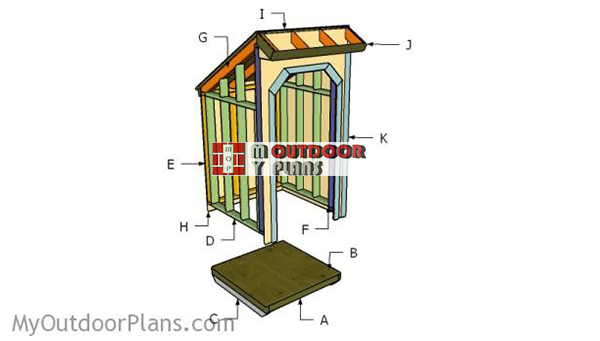 Building-a-wood-storage-shed