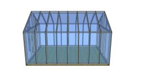 Wood Greenhouse Plans