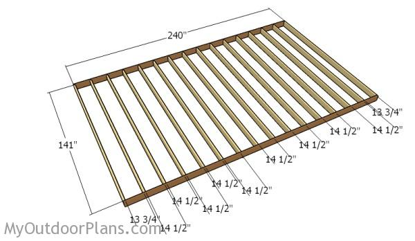 12x20 Shed Plans Myoutdoorplans Free Woodworking Plans