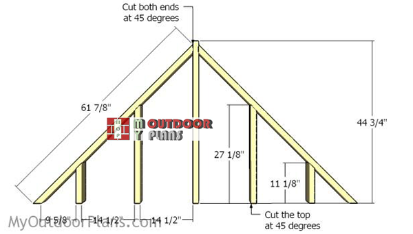 Building-the-gable-end-panels