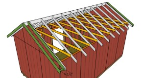 12×20 Shed Roof Plans