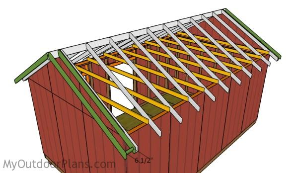 Building the overhangs