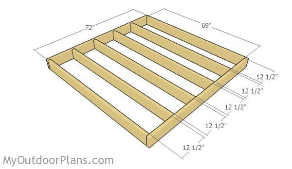 Builfing the floor frame
