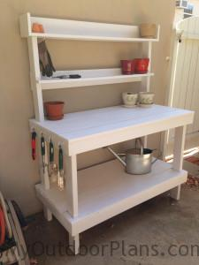 DIY Potting bench