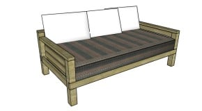 DIY Daybed Plans