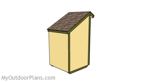 Decorative firewood shed plans