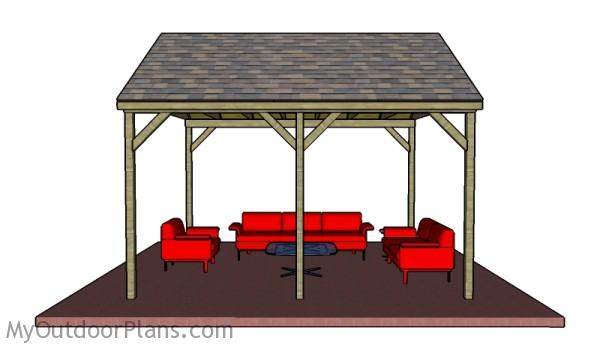 Backyard Pavilion Plans Myoutdoorplans Free