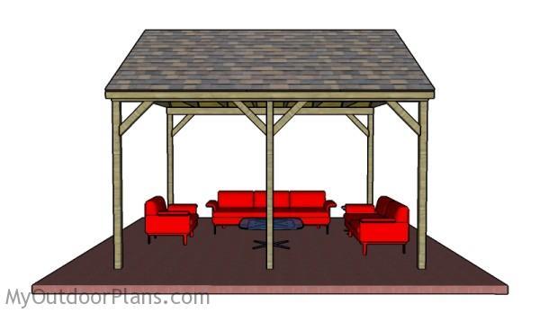 Diy pavilion plans