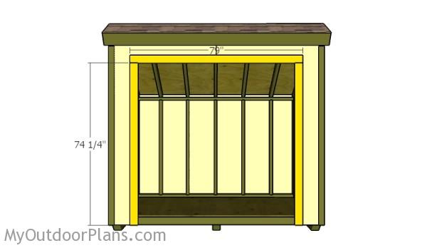 Double shed doors plans myoutdoorplans free for Double door shed plans