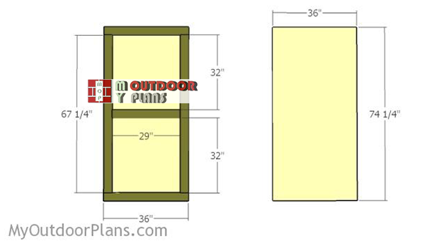 Fitting-the-doors-for-shed