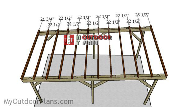 Flat Roof Carport Plans Myoutdoorplans Free Woodworking Plans And Projects Diy Shed Wooden Playhouse Pergola Bbq