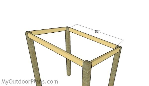 Fit the rim rafter