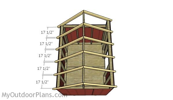 6x8 Saltbox Shed Roof Plans Myoutdoorplans Free