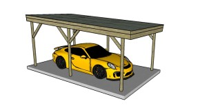 Flat Roof Carport Plans