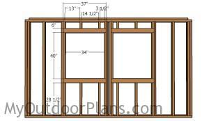 Framing the windows