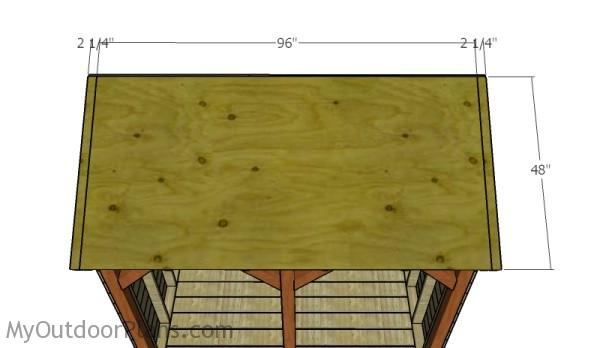 Front roofing